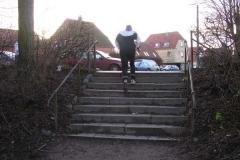 925 meter - med trappen til slut