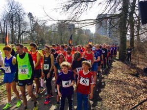Degnemoseløb 2016 Starten