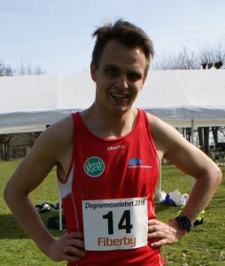 Glenn efter kort efter at 2. pladsen Degnemoseløbet var i hus den 2. April 2016