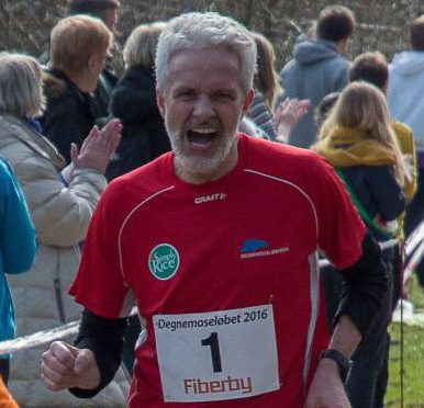 Morten Jakobsen har gennemført Lillebælt Halvmarathon