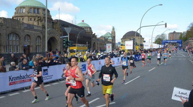 PR til Sarah Erbs Ledet i Marathon Hamburg 2016