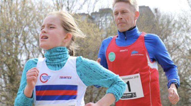 Ny PR til Jonas Johansen i den grønne halvmaraton idag.